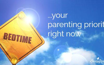 Parenting Priority Tonight: Bedtime