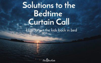 Bedtime Curtain Calls