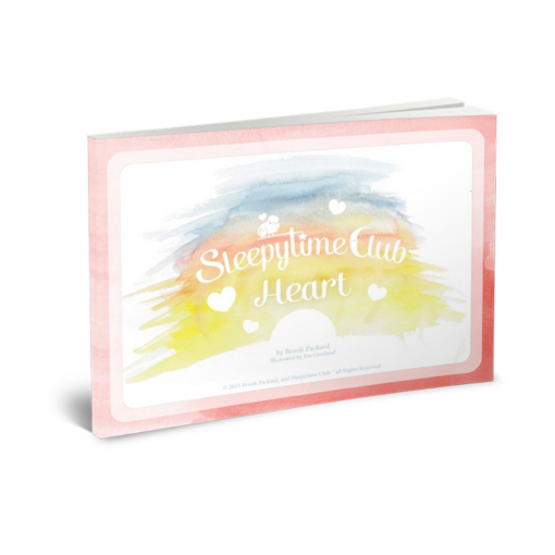 Heart Sleepytime Club Bedtime Kit