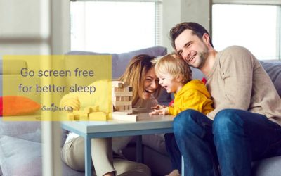 Go screen free for better sleep