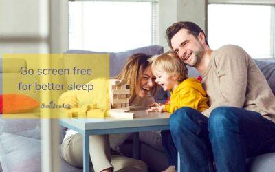 Go screen free for better sleep