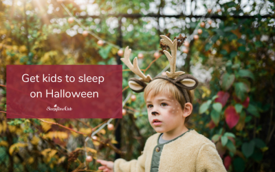 Get kids to sleep after Halloween excitement